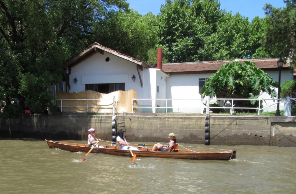 Amigas no rio Tigre